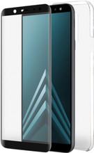Azuri TPU Samsung Galaxy A6 Plus (2018) Full body Zwart