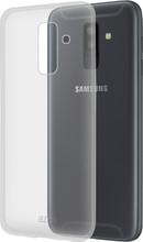 Azuri TPU Samsung A6 Plus Back Cover Transparant