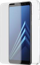 Azuri TPU Samsung Galaxy A8 (2018) Full body Transparant