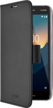 Azuri Wallet Magneet Nokia 2 (2018) Book Case Zwart