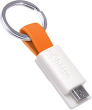 InCharge Micro-USB Kabel 3,8cm Oranje