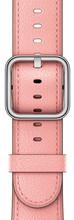 Apple Watch 42mm Klassiek Lederen Polsband Zachtroze