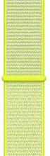 Apple Watch 42mm Nylon Sport Loop Horlogeband Knalgeel
