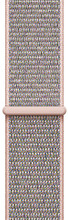 Apple Watch 38mm Nylon Sport Loop Horlogeband Rose Gold