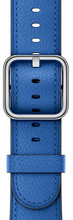 Apple Watch 38mm Klassiek Lederen Polsband Electric Blauw