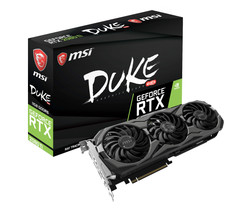 MSI GeForce RTX 2080 Ti DUKE OC 11G