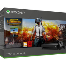 Microsoft Xbox One X 1 TB  PlayerUnknown's Battlegrounds