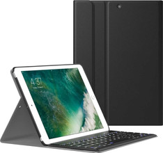 Just in Case Premium Apple iPad 9.7 (2017) Book Case Zwart