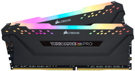 Corsair Vengeance 16GB DDR4 DIMM 3200 Mhz/16 (2x8GB) Black