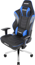 AKRACING Gaming Chair Master Max - PU Leather Blauw