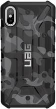 UAG Pathfinder Camo Apple iPhone X Back Cover Zwart
