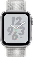 Apple Watch Series 4 44mm Nike+ Zilver Aluminium/Nylon bandj
