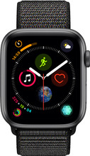 Apple Watch Series 4 44mm Space Gray Aluminium/Zwarte Nylon