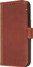 Decoded Leather Card Wallet iPhone Xs Max Book Case Bruin