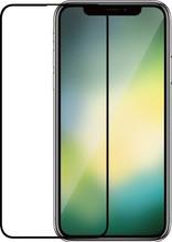 Azuri Gehard Glas iPhone Xr Screenprotector Glas Zwart