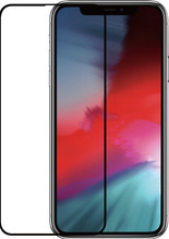 Azuri Gehard Glas iPhone Xs Max Screenprotector Glas Zwart