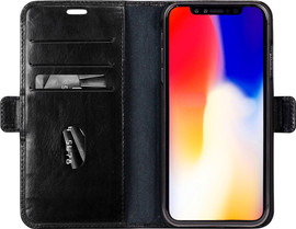 DBramante1928 Copenhagen iPhone Xs Max Book Case Zwart