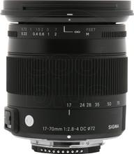"Sigma 17-70mm f/2.8-4 DC Macro OS HSM ""C"" Nikon"
