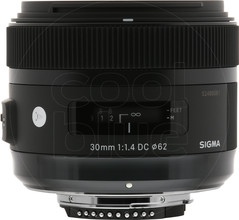 Sigma 30mm f/1.4 DC HSM ART Nikon
