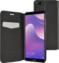 Azuri Booklet Ultra Thin Huawei Y7 (2018) Book Case Zwart