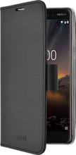 Azuri Wallet Magneet Nokia 6 (2018) Book Case Zwart