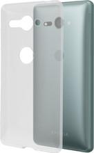 Azuri Glossy Sony Xperia XZ2 Compact Back Cover Transparant