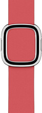Apple Watch 40mm Modern Leren Horlogeband Pioen - Large