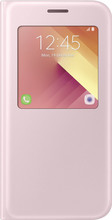 Samsung Galaxy A5 (2017) S View Stand Cover Roze