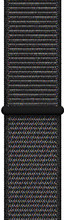Apple Watch 44mm Nylon Sport Loop Horlogeband Zwart Regular
