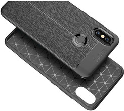 Just in Case Soft Design Xiaomi Mi A2 Back Cover Zwart