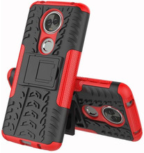 Just in Case Rugged Hybrid Moto E5 Plus Back Cover Rood