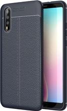 Just in Case Soft Design TPU Huawei P20 Back Cover Blauw