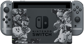 Nintendo Switch Super Smash Bros Ultimate Bundel