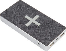 Xtorm Powerbank Wireless QI 8.000 mAh Wave Grijs