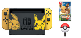 Nintendo Switch Pokemon Let's Go Evee Bundle