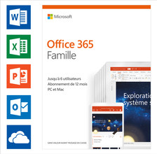 Microsoft Office 365 Home Abonnement 1 jaar FR