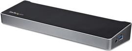 StarTech USB-C triple 4K monitor docking station met 60W PD