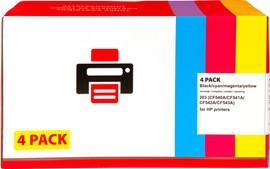 Huismerk 203 4-pack (CF540A-543)