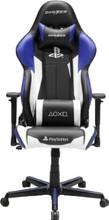 DX Racer Racing Gaming Chair PS4 ED Blauw/Zwart/Wit