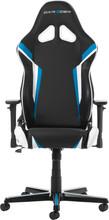 DX Racer Racing Gaming Chair Zwart/Blauw/Wit
