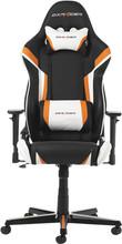 DX Racer Racing Gaming Chair Zwart/Oranje/Wit