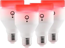 LIFX + White & Color Inclusief Infrarood Licht E27 4 Stuks