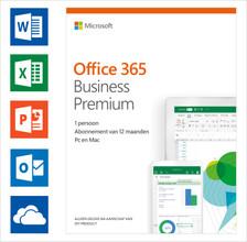 Microsoft Office 365 Zakelijk Premium 1 jaar Abonnement NL