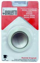 Bialetti Filterplaatje + Rubber Ring 3 kopjes