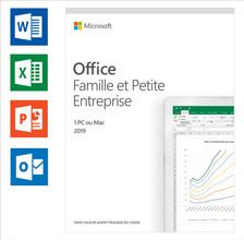 Microsoft Office 2019 Thuisgebruik en Zelfstandigen FR