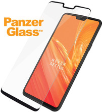 PanzerGlass Screenprotector OnePlus 6 Zwart
