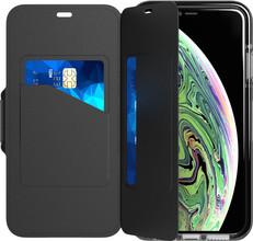 Tech21 Evo Wallet iPhone Xs Max Book Case Zwart