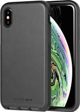 Tech21 Evo Luxe iPhone X/Xs - Zwart leer