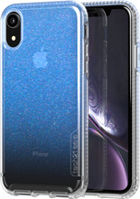 Tech21 Pure Shimmer iPhone XR - Blauw