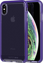 Tech21 Evo Check iPhone Xs Max Back Cover Paars